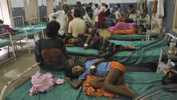22 children die after eating school lunch in India