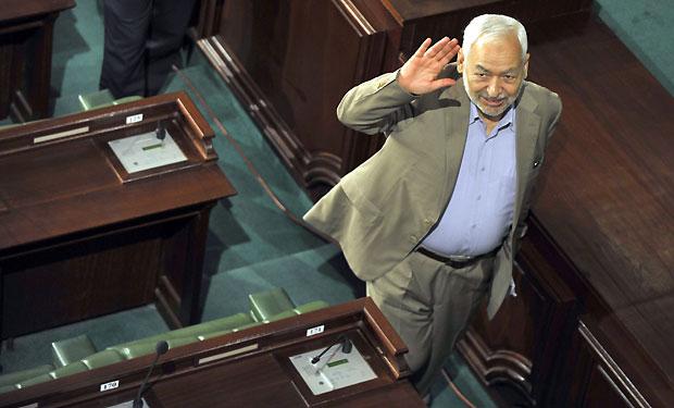 Ghannouchi says Tunisia is not Egypt