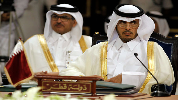 Qatar's new prime minister reports for duty