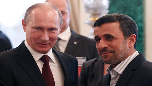 Ahmadinejad highlights Iran-Russia nuclear ties