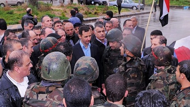 Syria: Assad says he is confident of victory