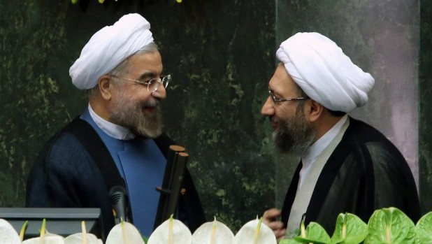 Hassan Rouhani sworn in as seventh Iranian president