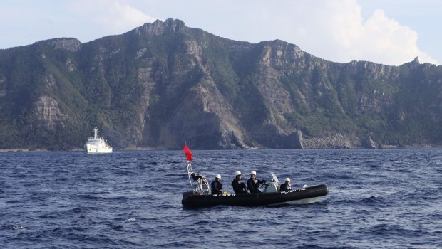 """Japan calls China incursions """"regrettable"""" on purchase anniversary"""