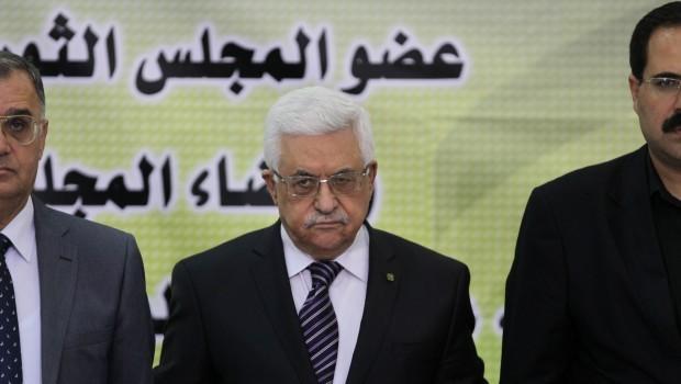 Abbas condemns Syria strikes, Hamas