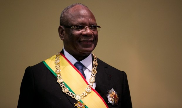 Mali's new president promises to bring peace, fight graft