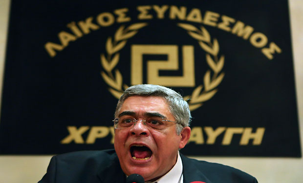 Greek far-right leader, others arrested