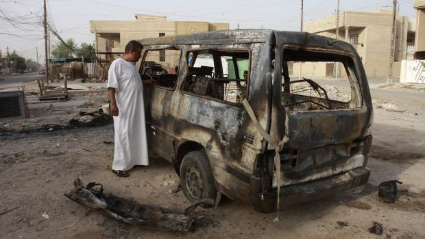 Iraqi army helicopter shot down in clashes with insurgents