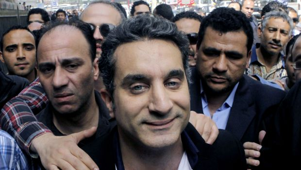 Egyptian satirist angers both sides of the political divide