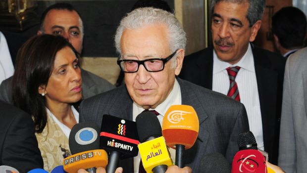 Syrian opposition to consider call for Brahimi's removal