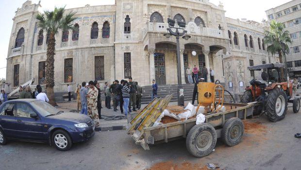 Bombings kill 16 in Syria