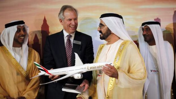 Boeing receives record 777X orders at Dubai Airshow