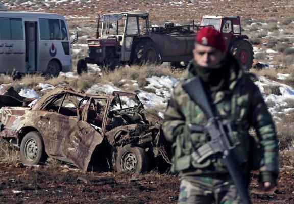 Lebanon: Car bomb explodes at Hezbollah checkpoint