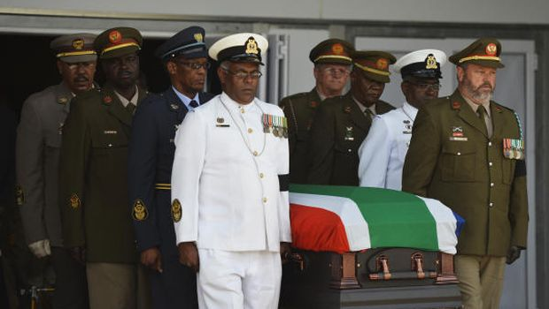 South Africa bids farewell to Mandela