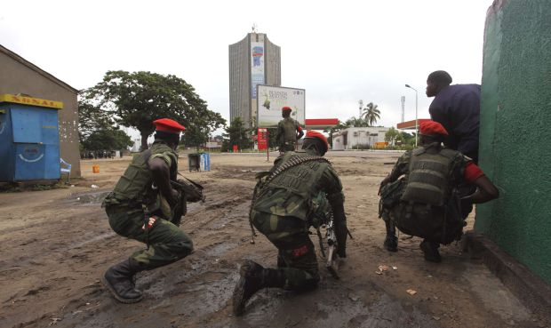 Congo's army repels attacks in Kinshasa, dozens killed