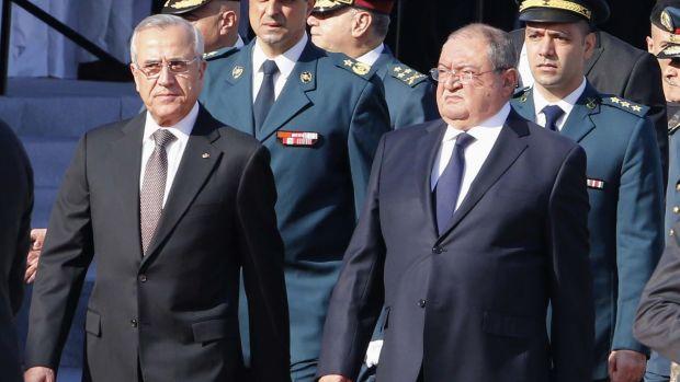 Lebanese defense minister denies arrest of terror suspect