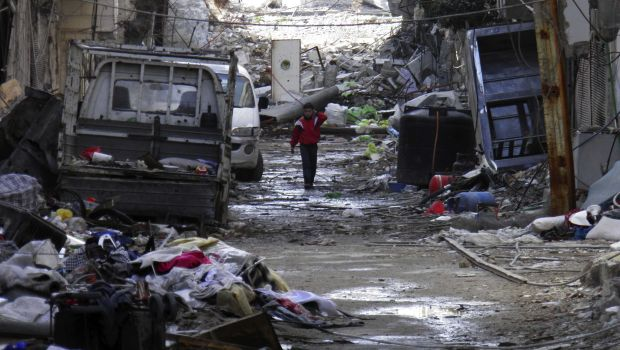 Syrian peace talks on hold for the day