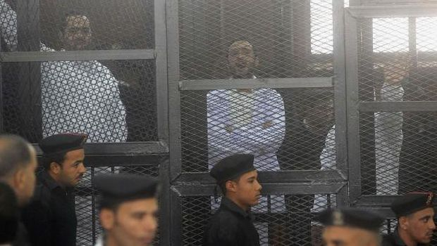 Egyptian political activists denied bail as appeal hearing adjourned