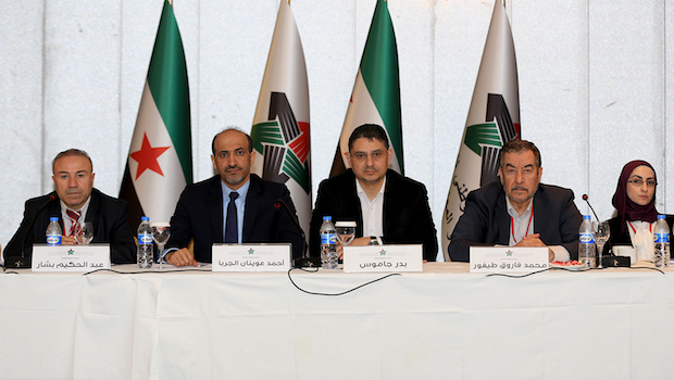 Syrian National Coalition to attend Geneva II