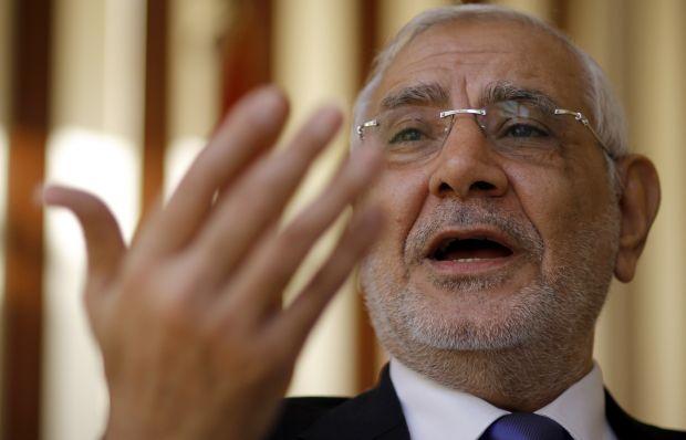"Aboul-Fotouh: Egypt constitutional referendum ""window dressing"""