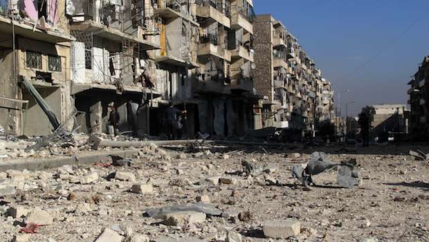 Syria: Airstrikes intensify in Aleppo as Yarmouk death toll hits 63