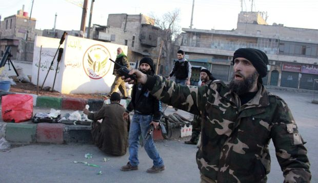 Syrian rebels seek to form unified Free National Army