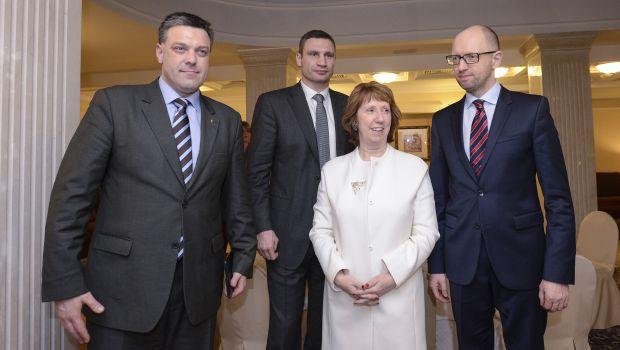 EU envoy meets Ukrainian president