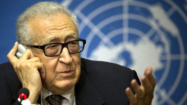 Brahimi: Little progress at second round of Geneva II talks