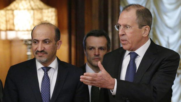 Syrian opposition in Moscow for talks