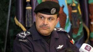 Jordanian Interior Minister Hussein Al-Majaali. (Asharq Al-Awsat)