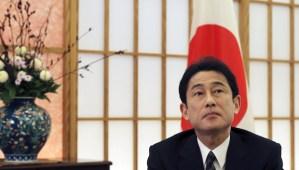 File photo of Japanese Foreign Minister Fumio Kishida. (AP Photo/Koji Sasahara)