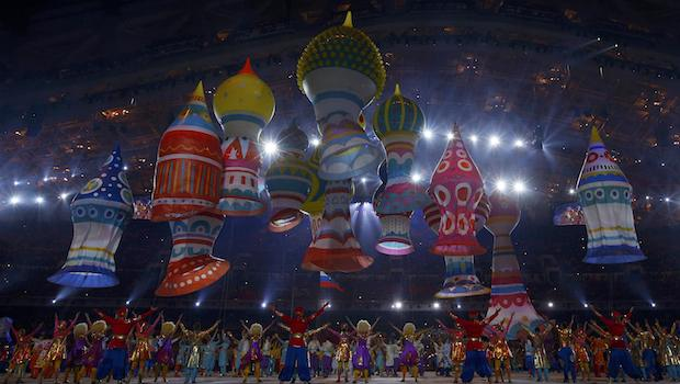 Olympics: Russian Winter Games kick off with fairytale show