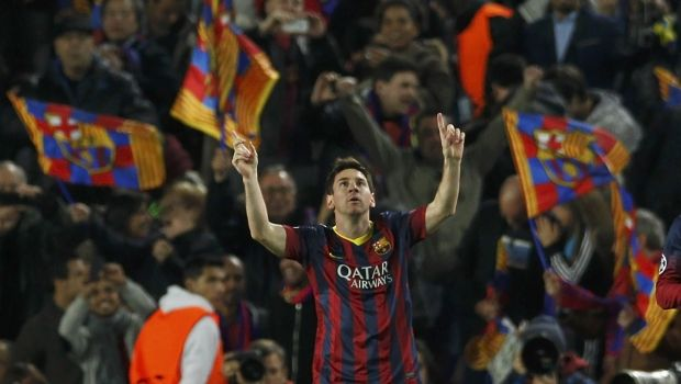 Champions League: Barca ease past Man City, PSG cruise through