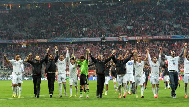 Soccer: Real thrash Bayern to reach Champions League final