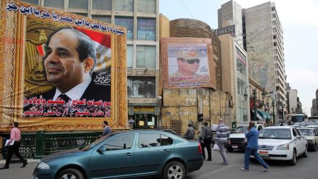 Sisi officially registers as presidential candidate