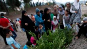 File photo of Syrians in Yayladagi, in Hatay province near the Turkish–Syrian border, on August 4, 2012. (REUTERS/Umit Bektas/Files)