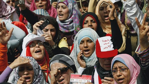Debate: Women were taken by surprise by the events of the Arab Spring
