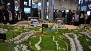 Trump Estates Dubai presented at the Dubai Cityscape Global 2013.