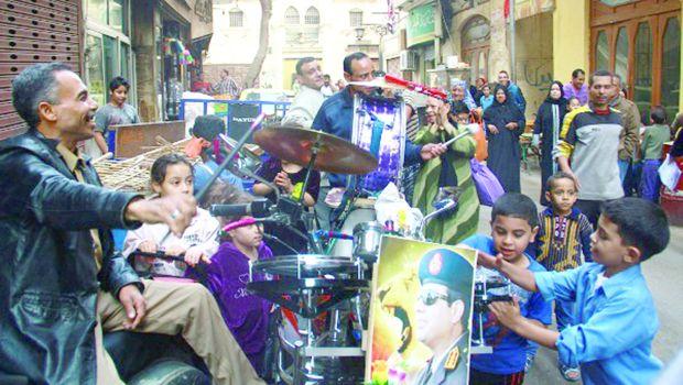 Sisi-mania in Cairo's El-Gamaleya district