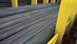 File photo of steel rebar. (Courtesy of Egyptian Steel)