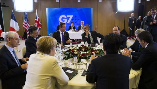 G7 willing to step up sanctions on Russia over Ukraine