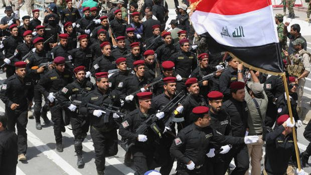 Iraq's Sadrists defend military parade amid fears of sectarian war