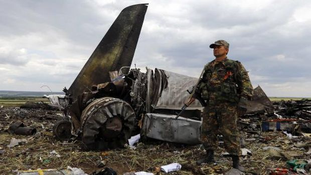 Ukraine vows firm response after rebels shoot down military plane