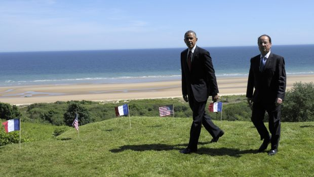 World honors D-Day's fallen, 70 years on