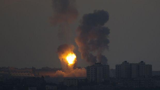 Hamas rockets land deep in Israel as it bombards Gaza Strip