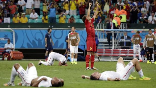 Argentina, Belgium through after extra-time drama