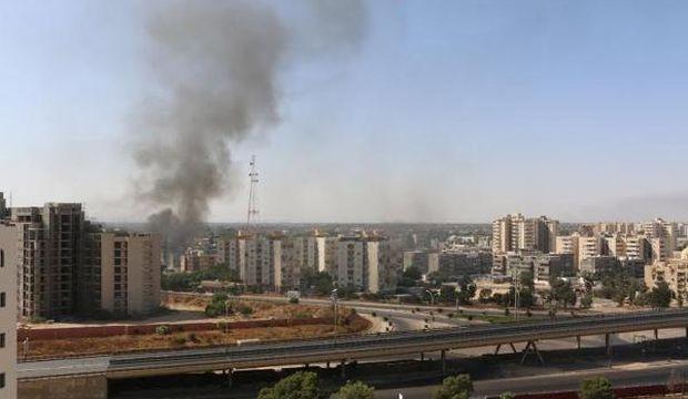 Heavy fighting breaks out near Libya's Tripoli airport, three dead