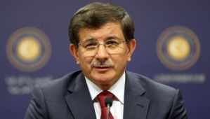 Turkey's Foreign Minister Ahmet Davutoglu speaks during a news conference in Ankara on July 3, 2014. (AFP PHOTO/ADEM ALTAN)