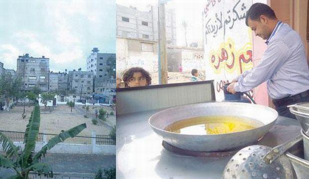 Faced with Israeli shelling, Gaza neighbors band together