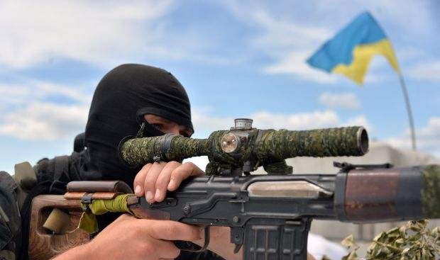 Ukraine claims victory in rebel stronghold