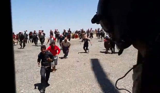 US: Far fewer Iraqi refugees on Sinjar Mountain